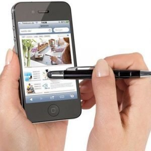 Wedo Touchpen Pioneer Mini Musta Ipad/iphone/smartphone