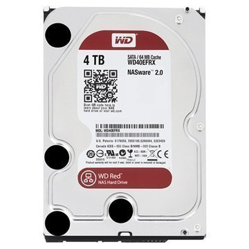 Western Digital Red WD40EFRX Kiintolevy 4TB