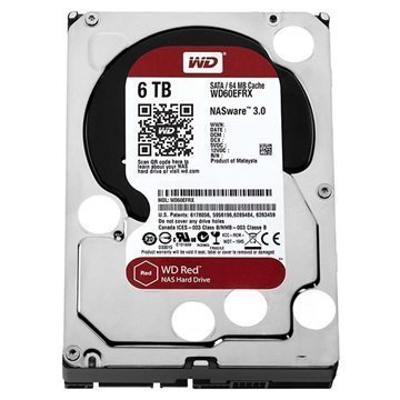 Western Digital Red WD60EFRX Kiintolevy 6TB