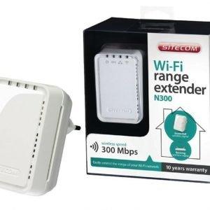 Wi-Fi seinään kiinnitettävä laajennin N300