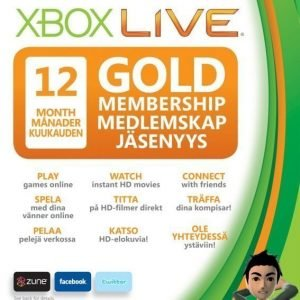 Xbox 360 LIVE 12 Month GOLD