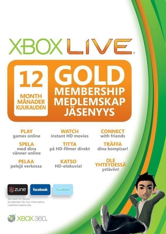 how to get xbox live gold on xbox 360
