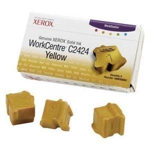Xerox Colorstix 3x Keltainen Wc C2424