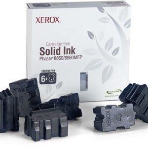 Xerox Colorstix 6x Musta 14k Phaser 8860