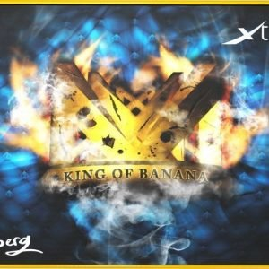 Xtrfy Mousepad Large NiP Friberg King of Banana