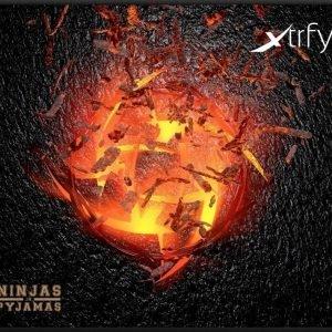 Xtrfy Mousepad Large NiP Volcano
