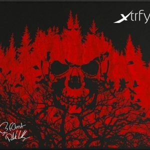 Xtrfy Mousepad Large NiP f0rest