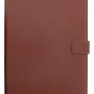 Yleiskäyttöinen 7 tuuman Folio-suojakotelo/teline tablet-laitteelle keinonahkaa ruskea