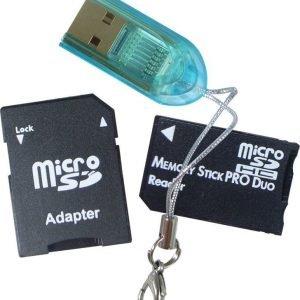 ZAP 3-in-1 MicroSD adapter