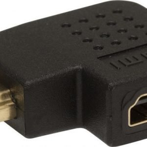 ZAP HDMI to HDMI Female Angled Right Adapter