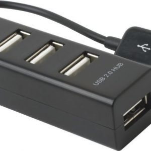 ZAP Micro Hub 4x USB2.0 Black