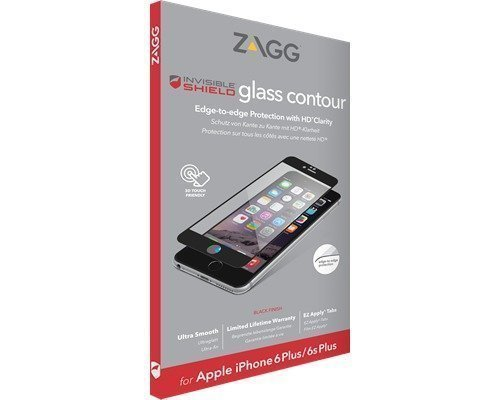 Zagg Invisibleshield Glass Contour Black Iphone 6/6s Plus