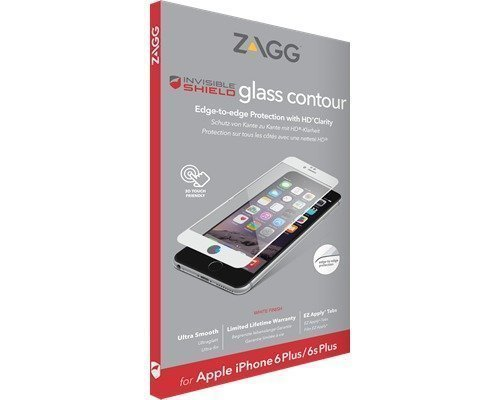 Zagg Invisibleshield Glass Contour White Iphone 6/6s Plus