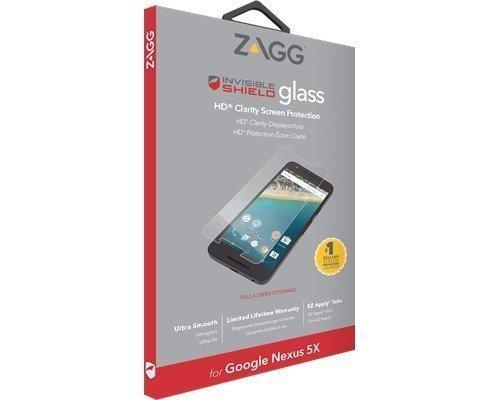 Zagg Invisibleshield Glass Screen Coverage Google Nexus 5x