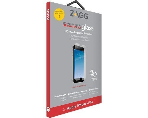 Zagg Invisibleshield Glass Screen Coverage Iphone 7 Iphone 6/6s