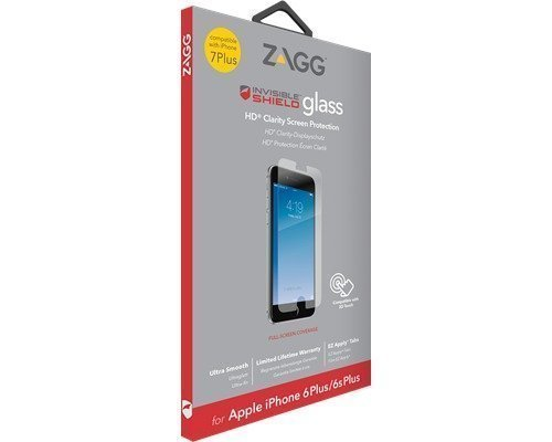 Zagg Invisibleshield Glass Screen Coverage Iphone 7 Plus Iphone 6 Plus/6s Plus
