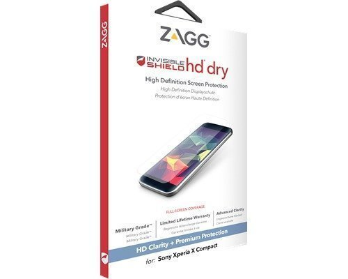 Zagg Invisibleshield Hd Dry Sony Xperia X Compact