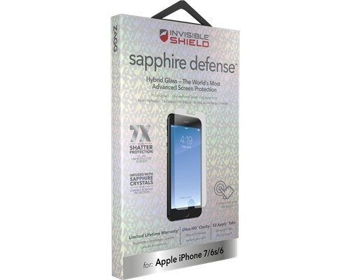 Zagg Invisibleshield Sapphire Defense Iphone 7 Iphone 6/6s