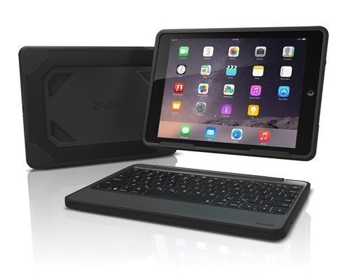 Zagg Rugged Book With Keyboard Ipad Pro 9.7 Backlit Nordic