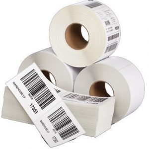 Zebra Symbol Labels 8000t Ultra High-tack Matte 57x32mm 6-pack