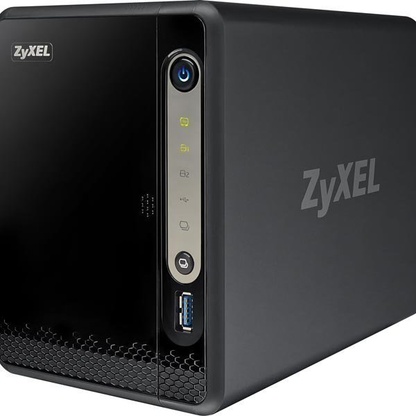 ZyXEL NSA325V2 2-bay Power Plus Media Server GB-LAN USB 3.0 Memeo