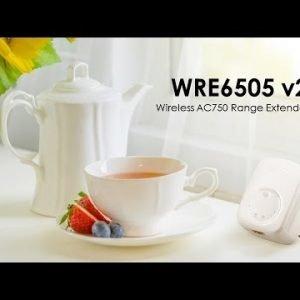Zyxel Wre6505v2 Ac750 Wi Fi Range Extender Wifi Toistin