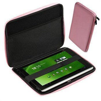 iGadgitz EVA Hard Case Acer Aspire Iconia Tab A500 A501 W500 W501 Pink