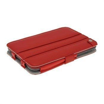 iGadgitz Guardian Triview Nahkakotelo Samsung Galaxy Tab 2 7.0 P3100 P3110 Punainen