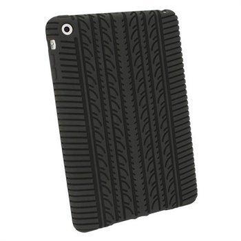 iGadgitz Tyre Tread Silikonikotelo iPad mini iPad mini 2 iPad mini 3 Musta