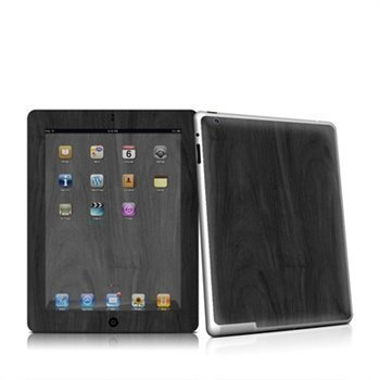 iPad 2 Black Woodgrain Skin