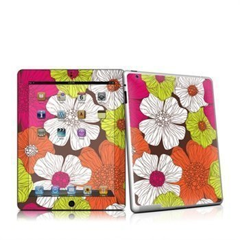 iPad 2 Brown Flowers Skin
