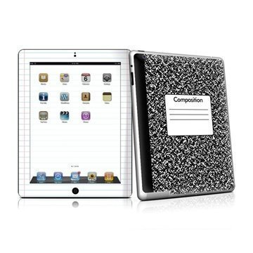 iPad 2 Composition Notebook Skin