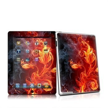 iPad 2 Flower Of Fire Skin