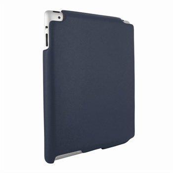 iPad 2 Piel Frama iMAGNUM Nahkakotelo Laivaston Sininen
