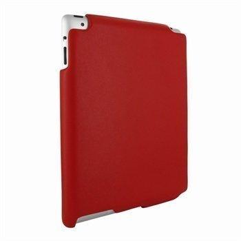 iPad 2 Piel Frama iMAGNUM Nahkakotelo Punainen