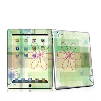 iPad 2 Plaid Flower Skin