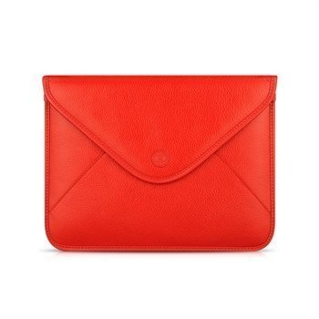 iPad 2 iPad 3 iPad 4 Beyzacases Thinvelope Leather Case Red