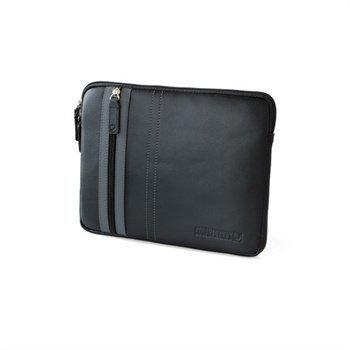 iPad 2 iPad 3 iPad 4 CoolBananas SmartGuy PU Nahkakotelo Eeben Musta