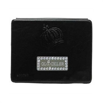 iPad 2 iPad 3 iPad 4 Glööckler Function Carat Leather Case Black