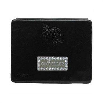 iPad 2 iPad 3 iPad 4 Glööckler Function Carat Leather Case Black