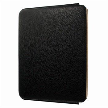 iPad 2 iPad 3 iPad 4 Piel Frama Unipur Nahkakotelo Musta