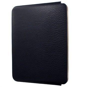 iPad 2 iPad 3 iPad 4 Piel Frama Unipur Nahkakotelo Tumma Sininen