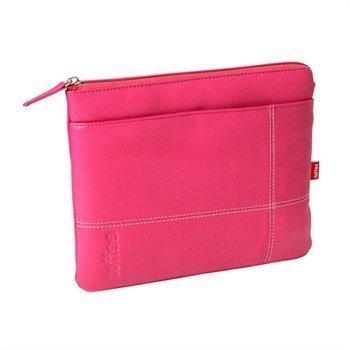 iPad 2 iPad 3 iPad 4 Toffee Premium Nahkapussi Pinkki