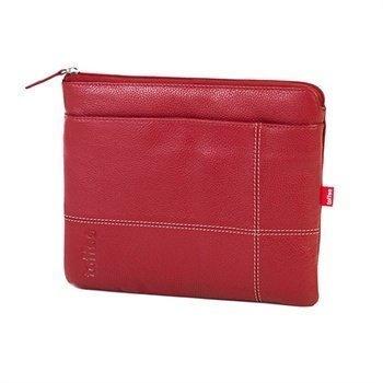 iPad 2 iPad 3 iPad 4 Toffee Premium Nahkapussi Punainen