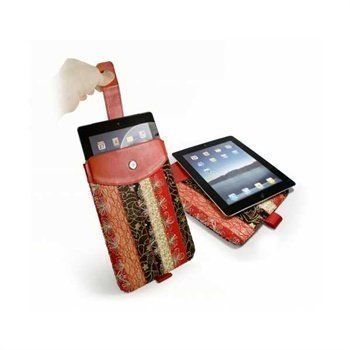 iPad 2 iPad 3 iPad 4 Tuff-Luv Marrakesh Case Red