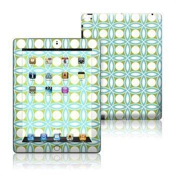 iPad 3 iPad 4 Blue Geo Skin