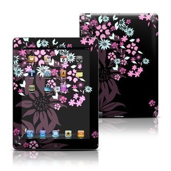 iPad 3 iPad 4 Dark Flowers Skin