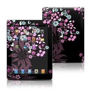 iPad 3 iPad 4 Dark Flowers Skin