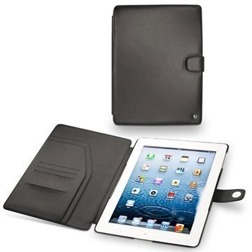 iPad 3 iPad 4 Noreve Tradition Leather Case Black