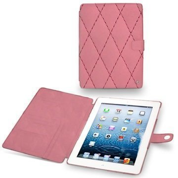 iPad 3 iPad 4 Noreve Tradition Leather Case Pink Couture